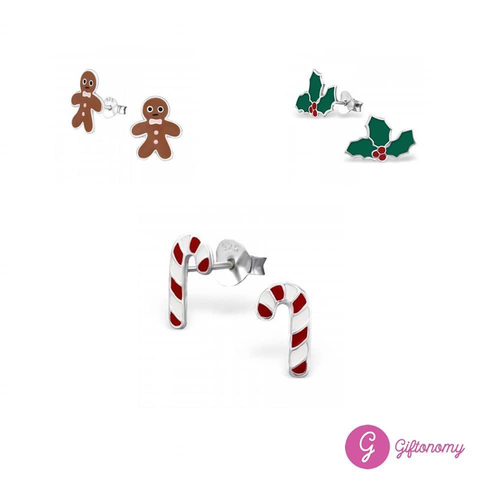 Christmas Treats Earrings Set