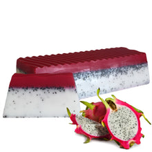 Load image into Gallery viewer, Tropical Paradise Dragon Fruit Soap Slice