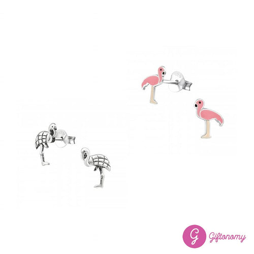 Flamingo Earrings Set