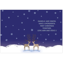 Load image into Gallery viewer, Reindeer Couple Card