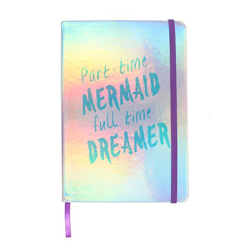 Part Time Mermaid A5 Lined Notebook