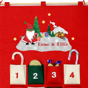 Christmas Scene Felt Advent Calendar