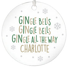 Load image into Gallery viewer, GINgle Bells Acrylic Bauble