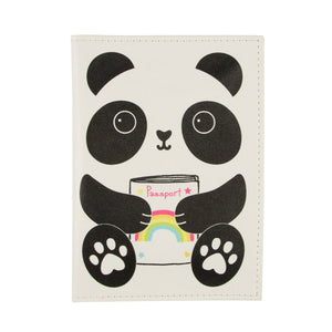 Kawaii Panda Passport Holder