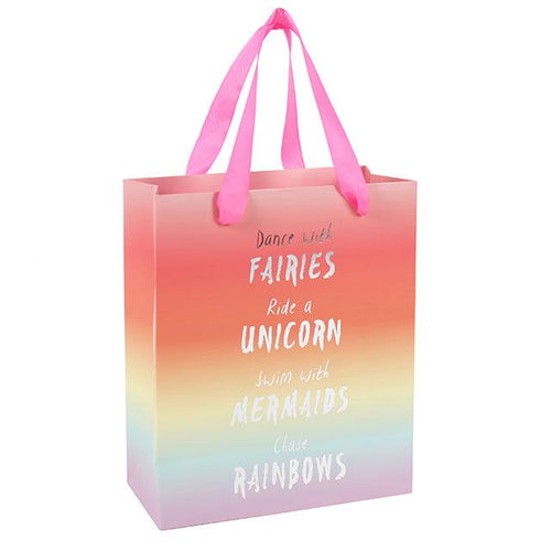 Medium Rainbow Gift Bag