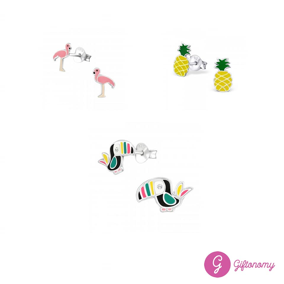 Tropical Earrings Set