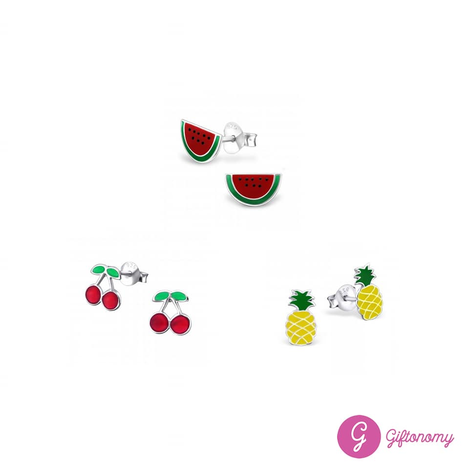 Cherry Sweet Earrings Set