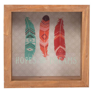Boho Hopes & Dreams Frame Money Box