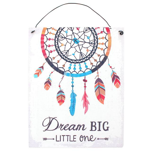 Little One Dreamcatcher Hanging Sign