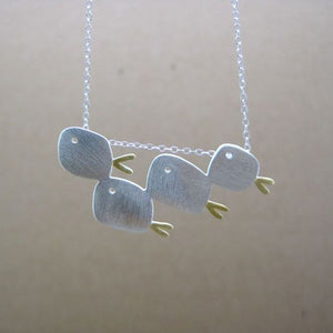 Four Fish Necklace