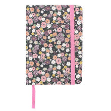 Load image into Gallery viewer, Floral A6 Lined Notebook