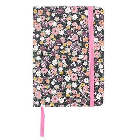 Floral A6 Lined Notebook