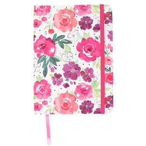 Floral Fusion A5 Lined Paper