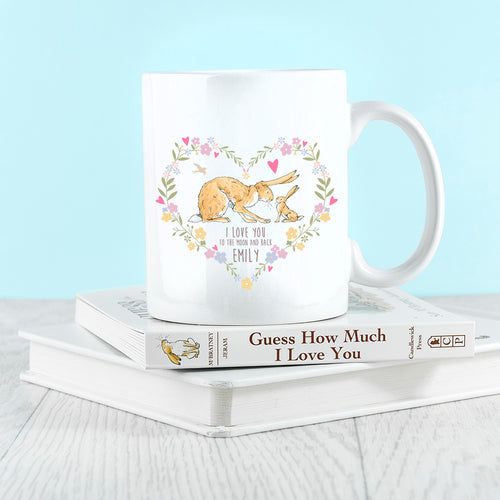 Wreath Heart Design Ceramic Mug