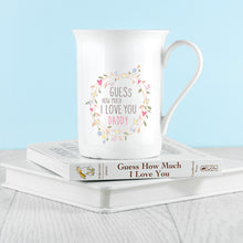 Load image into Gallery viewer, Wreath Design Bone China Mug