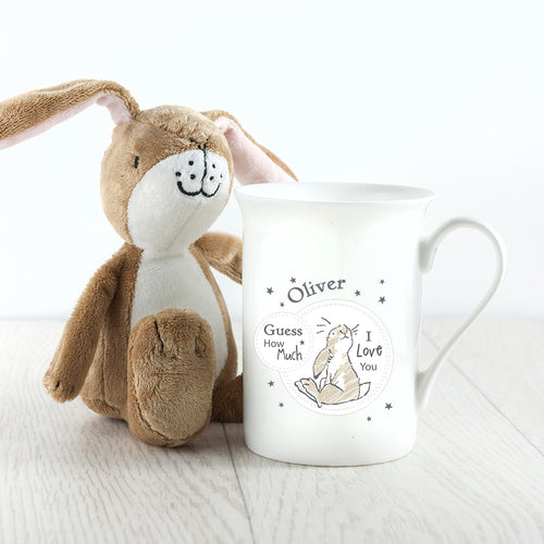 Sitting Hare Bone China Mug