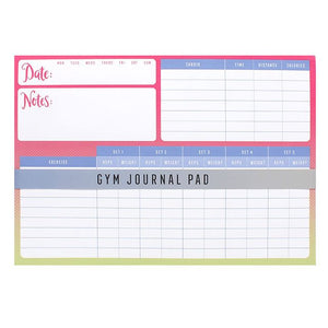 Gym Journal Pad