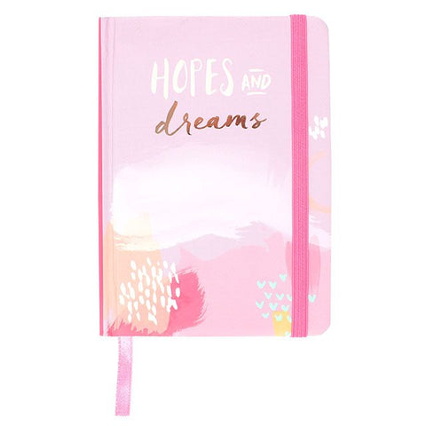Hopes and Dreams A6 Lined Notebook
