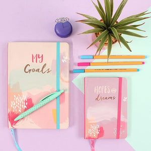 My Goals A5 Lined Notebook