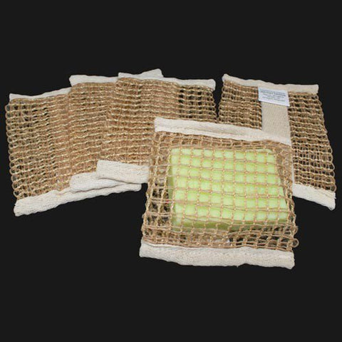 Soft Jute Soap Bag