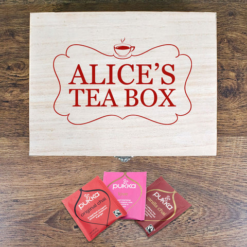 Teacup Tea Box