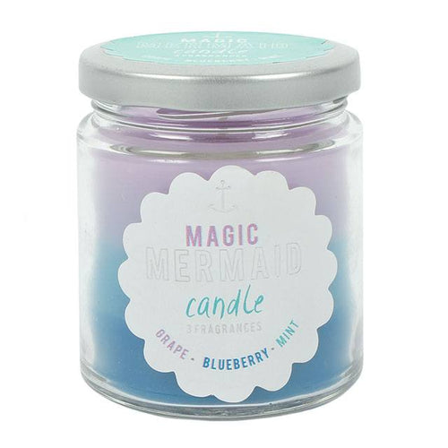 Magic Mermaid Ombre Jar Candle