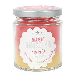 Magic Unicorn Rainbow Jar Candle