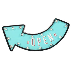 Light Up Open Sign