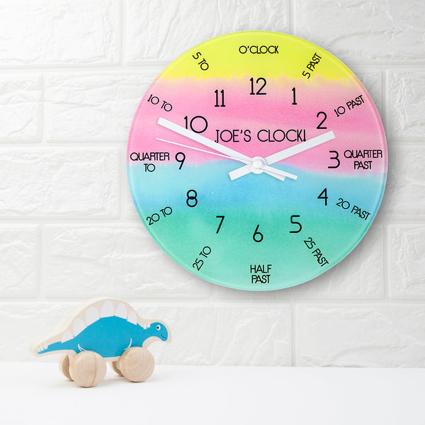 I Can Tell The Time! Wall Clock