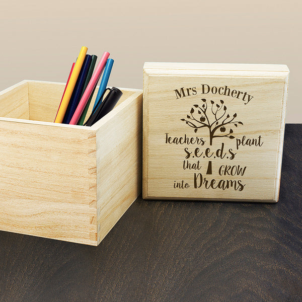Teachers Cube Box