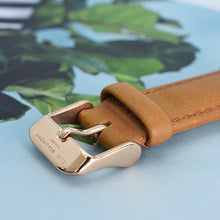 Load image into Gallery viewer, Ladies Camel Leather Watch