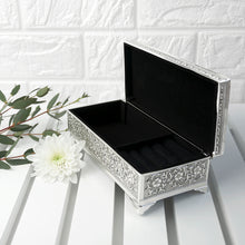 Load image into Gallery viewer, Silver Trinket Box
