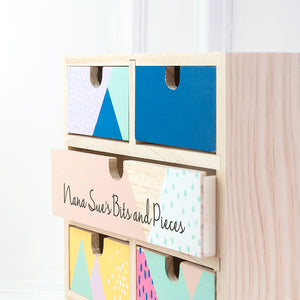 Geometric Accessory Drawers