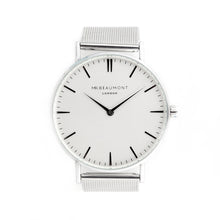 Load image into Gallery viewer, Men's Silver Metallic Watch