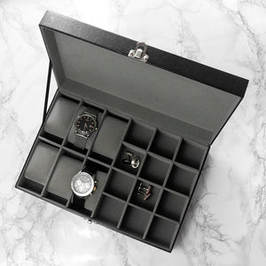 Watch & Cufflinks Box