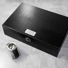 Load image into Gallery viewer, Watch & Cufflinks Box