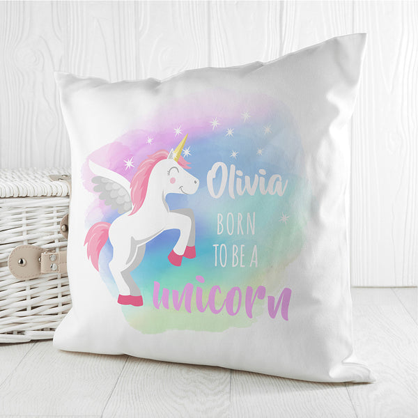 Born To Be A Unicorn Cushion Cover