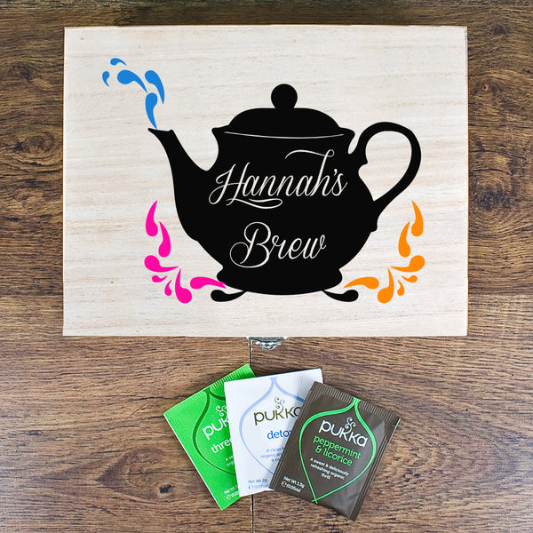 My Favourite Brews Tea Box