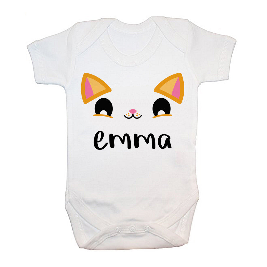 Kitten Eyes Baby Bodysuit