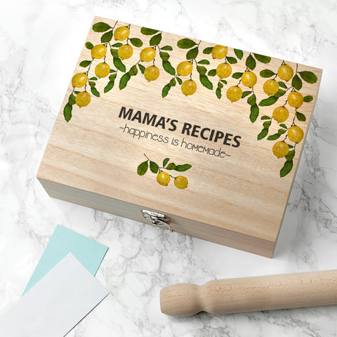Lemon Grove Recipe Box