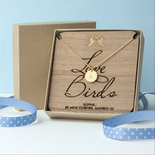 Load image into Gallery viewer, Love Birds Necklace & Keepsake