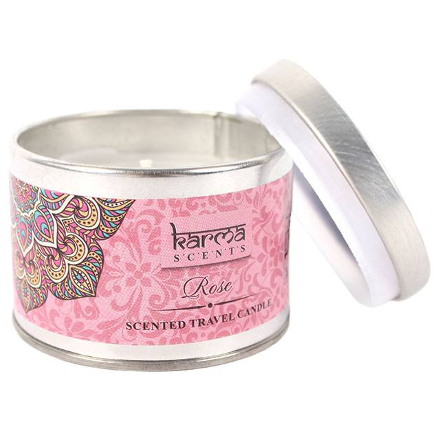 Karma Scents Rose Candle