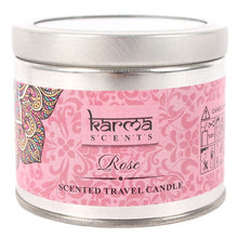 Load image into Gallery viewer, Karma Scents Rose Candle