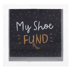 Shoe Fund Frame Money Box