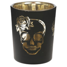 Load image into Gallery viewer, Skull Tea Light Holder Set of 2