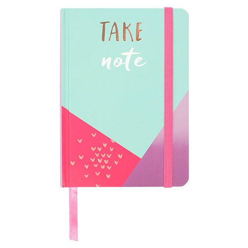 Take Note A6 Lined Notebook