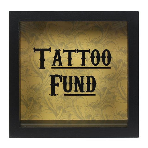 Tattoo Fund Frame Money Box