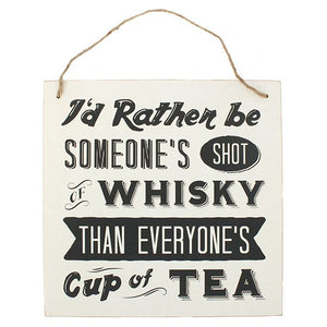 Whisky Hanging Sign