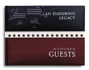 Cover of Honored Guests Book by Konig House Guest Books