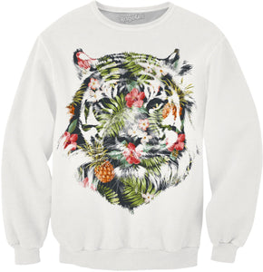 Tropical tiger Sweatshirt